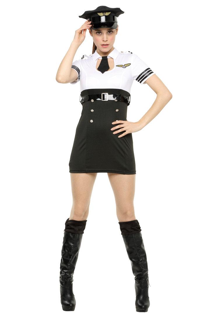 PPF モノトーンポリス Pipi-fitch 仮装 衣装 コスプレ コスチューム 女性用 仮装 コスチューム 大人 コスプレ 衣装