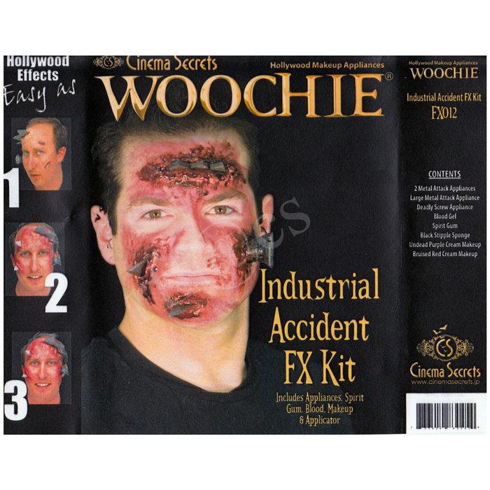 米国シネマシークレット社製 工場事故の特殊メイクキット FX012|WOOCHIE Industrial Accident FX Kit