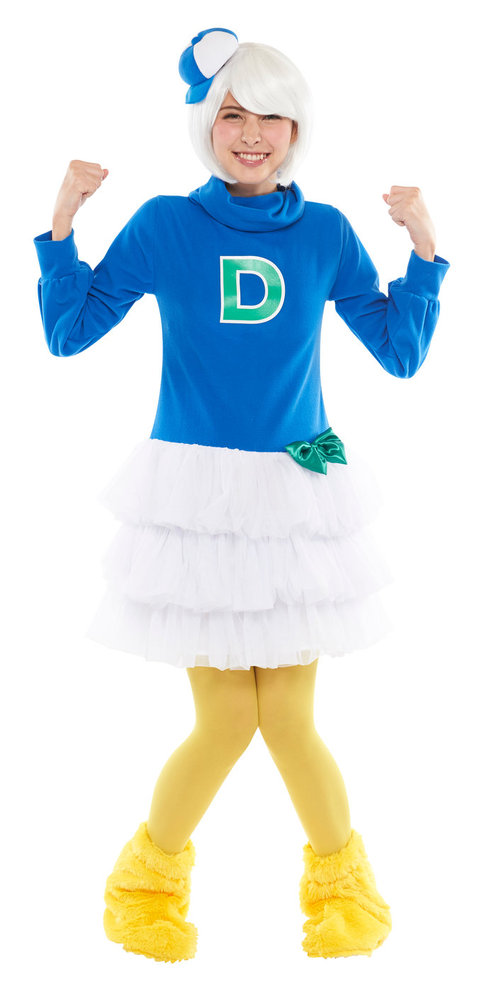 送料無料 大人 デューイ レディース 女性 ドナルド グリーン ディズニー キャラクター 公式ライセンス コスチューム 仮装 衣装 変装 ハロウィン コスプレ