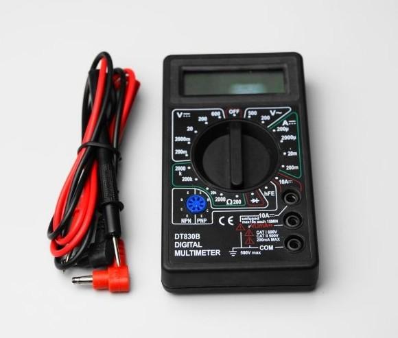 激安特価品 デジタルテスター DT-830B 小型 電圧 公式ショップ 電流 抵抗測定器