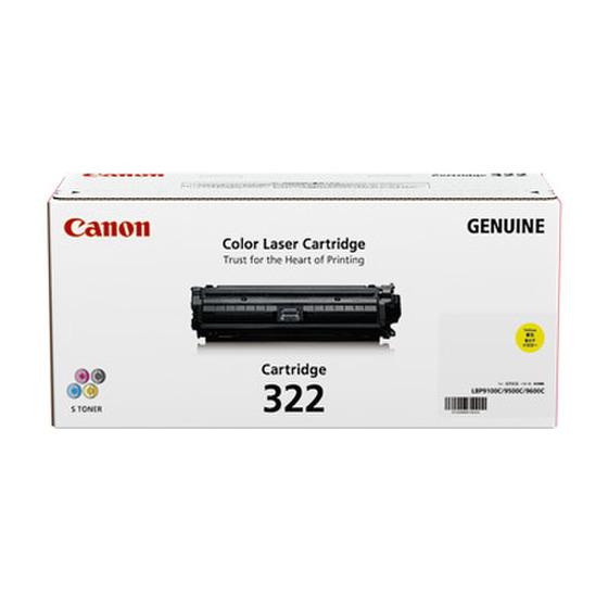 CANON/キャノン CRG-322YEL/CRG322YEL トナーカートリッジ322 イエロー メーカー純正品