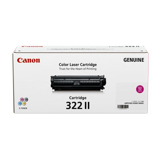 CANON/キャノン CRG-322MAGII/CRG322MAGII トナーカートリッジ322II マゼンタ メーカー純正品