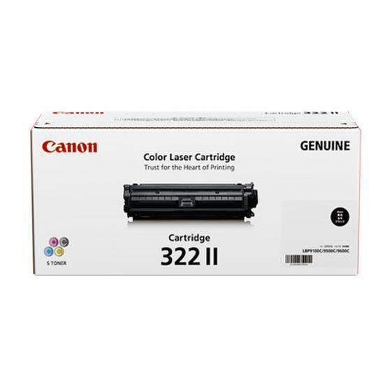 CANON/キャノン CRG-322BLKII/CRG322BLKII トナーカートリッジ322II ブラック メーカー純正品