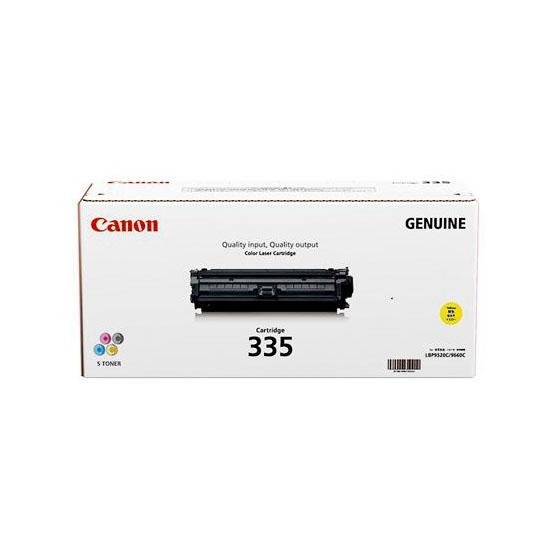 CANON/キャノン CRG-335YEL/CRG335YEL トナーカートリッジ335 イエロー メーカー純正品