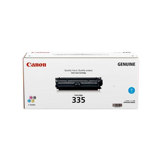 CANON/キャノン CRG-335CYN/CRG335CYN トナーカートリッジ335 シアン メーカー純正品