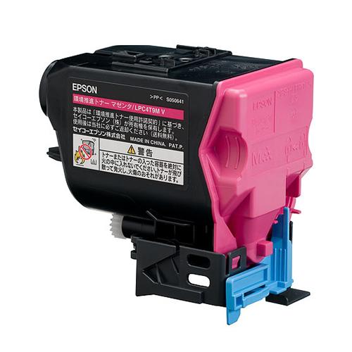 EPSON/エプソン LPC4T9MV 環境推進トナー マゼンタ メーカー純正品