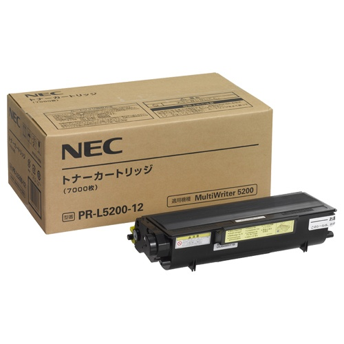 NEC/日本電気 PR-L5200-12/PRL5200-12 トナーカートリッジ メーカー純正品