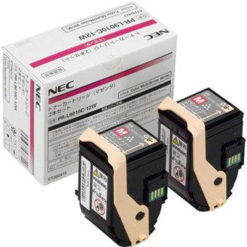 【2本セット】NEC/日本電気 PR-L9010C-12W トナーカートリッジ マゼンタ メーカー純正品