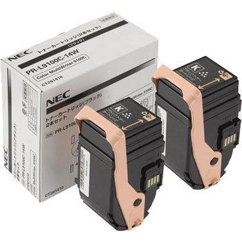 【2本セット】NEC/日本電気 PR-L9100C-14W トナーカートリッジ ブラック メーカー純正品