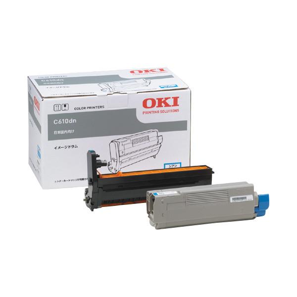 OKI/沖データ ID-C4HC / IDC4HC イメージドラム シアン メーカー純正品