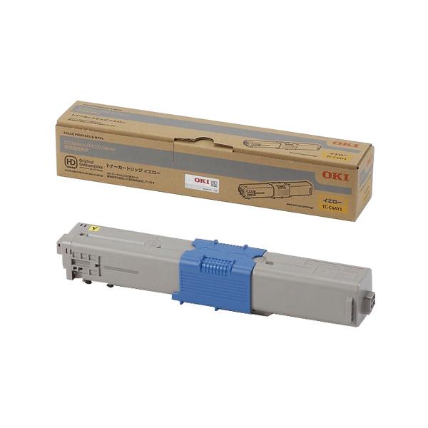 OKI/沖データ TC-C4AY1 / TCC4AY1 トナーカートリッジ イエロー メーカー純正品