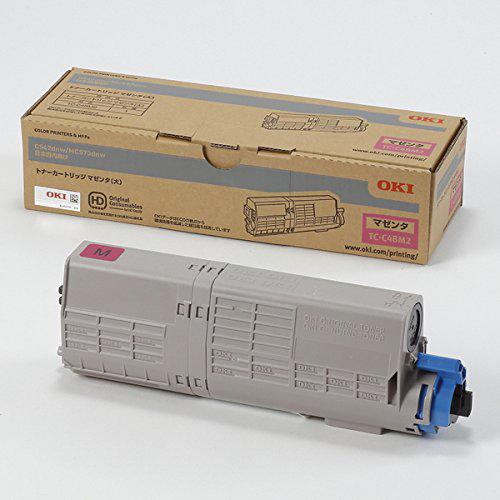 OKI/沖データ TC-C4BM2/TCC4BM2 トナーカートリッジ マゼンタ(大) メーカー純正品