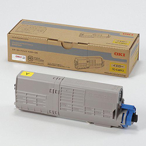 OKI/沖データ TC-C4BY2/TCC4BY2 トナーカートリッジ イエロー(大) メーカー純正品