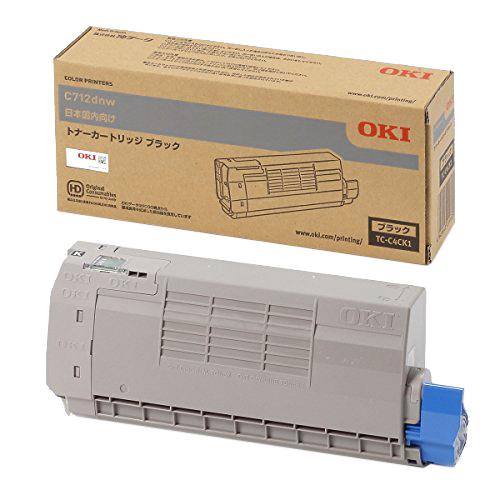 OKI/沖データ TC-C4CK1 / TCC4CK1 トナーカートリッジ ブラック メーカー純正品