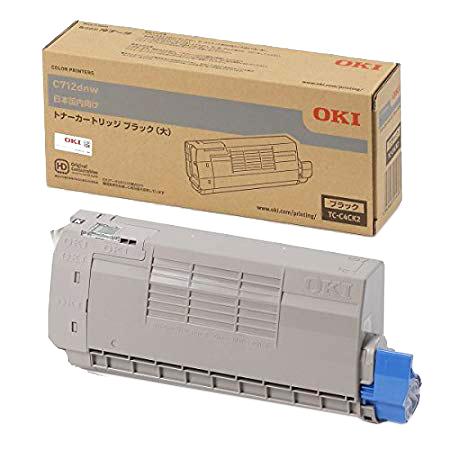 OKI/沖データ TC-C4CK2 / TCC4CK2 トナーカートリッジ ブラック(大) メーカー純正品