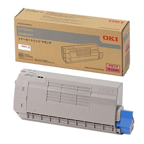 OKI/沖データ TC-C4CM1 / TCC4CM1 トナーカートリッジ マゼンタ メーカー純正品