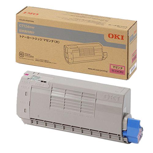 OKI/沖データ TC-C4CM2 / TCC4CM2 トナーカートリッジ マゼンタ(大) メーカー純正品