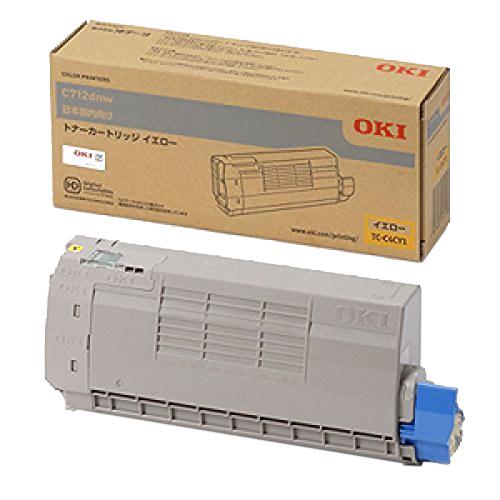 OKI/沖データ TC-C4CY1 / TCC4CY1 トナーカートリッジ イエロー メーカー純正品