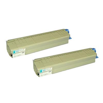 OKI/沖データ TNR-C3KC3 / TNRC3KC3 トナーカートリッジS シアン 【2本セット】 メーカー純正品