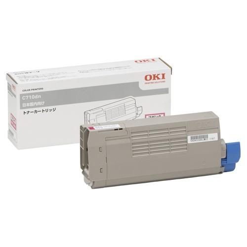OKI/沖データ TNR-C4EM1 / TNRC4EM1 トナーカートリッジ マゼンタ メーカー純正品
