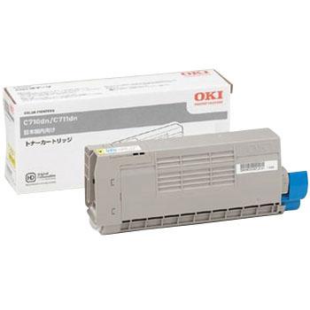 OKI/沖データ TNR-C4GY1 / TNRC4GY1 トナーカートリッジ イエロー メーカー純正品