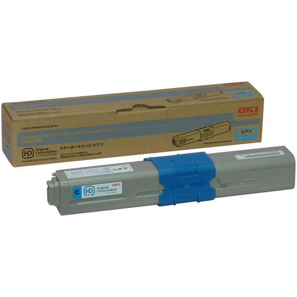 OKI/沖データ TNR-C4HC1 / TNRC4HC1 トナーカートリッジ シアン メーカー純正品