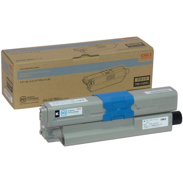 OKI/沖データ TNR-C4HK2 / TNRC4HK2 大容量トナーカートリッジ ブラック メーカー純正品