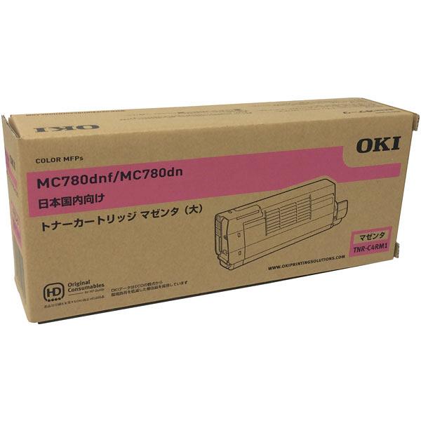 OKI/沖データ TNR-C4RM1 / TNRC4RM1 大容量トナーカートリッジ マゼンタ メーカー純正品