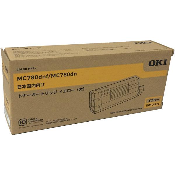 OKI/沖データ TNR-C4RY1 / TNRC4RY1 大容量トナーカートリッジ イエロー メーカー純正品