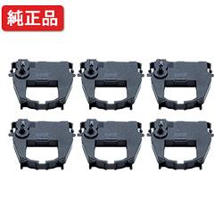 【6本セット】 日立/HITACHI 【純正】 リボンカセット PC-PZ120801