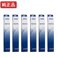 インクリボン 新商品 リボンカセット リボンカートリッジ メイルオーダー 6本セット EPSON エプソン VPD1800RC 純正