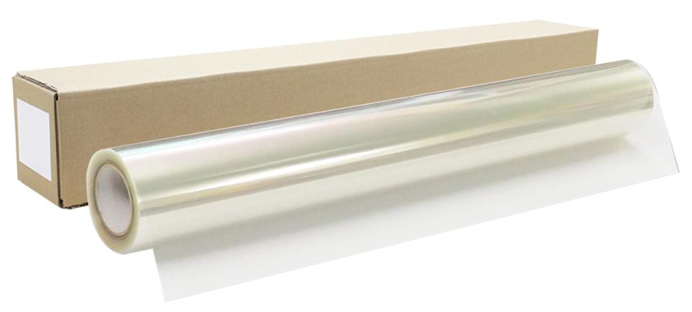 インクジェットロール透明フィルム幅914mm(A0ノビ)×長さ30m 厚0.12mm 【代引き不可】