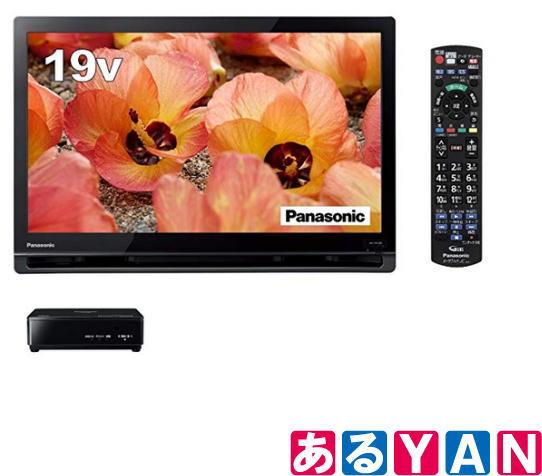 パナソニック 液晶テレビ UN-19CF8 -K ブラック 19V型 プライベート・ビエラ ポータブル 新品 送料無料