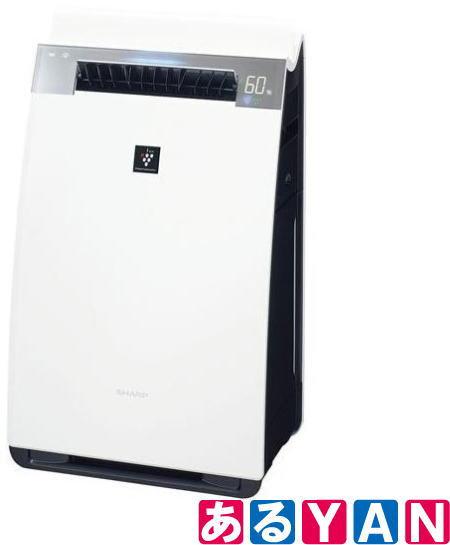 [新品][送料無料] シャープ 加湿空気清浄機 KI-H75Y-X -W ホワイト プラズマクラスター25000搭載 空気清浄34畳/加湿21畳