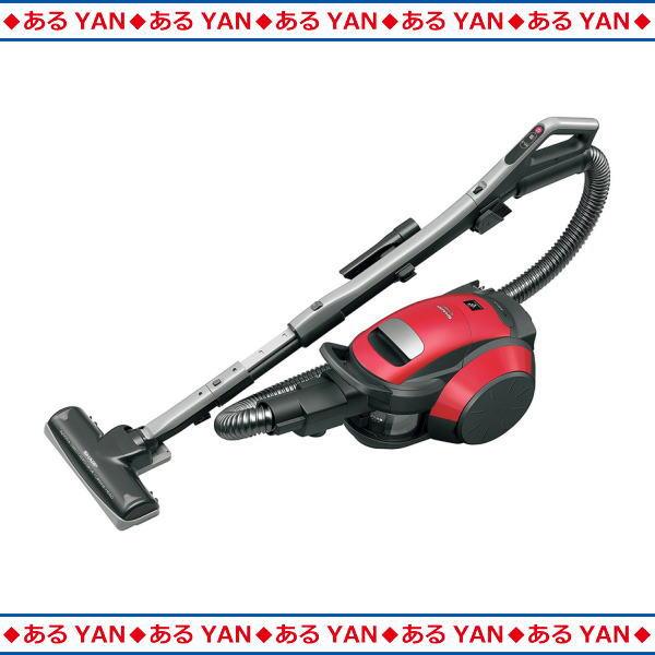 [新品][送料無料] シャープ サイクロン式掃除機 EC-FX60T -R レッド系 スタンダード・タービンヘッドタイプ プラズマクラスター搭載
