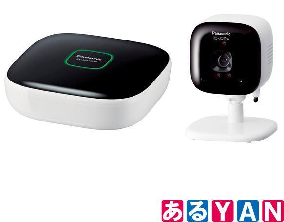 [新品][送料無料] パナソニック 屋内カメラキット KX-HJC200K -W ホワイト ホームネットワーク システム