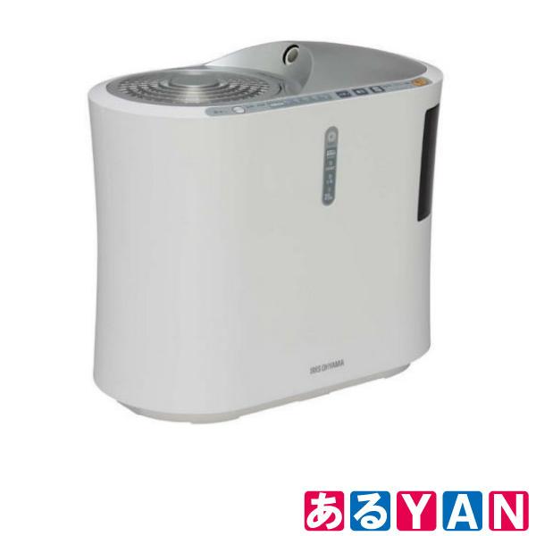 [新品][送料無料] アイリスオーヤマ 強力ハイブリッド加湿器 SSH-750Z -S シルバー イオン付