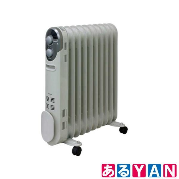 山善 マイコンオイルヒーター DO-YTL124 (W) ホワイト 入切タイマー付 温度調節機能付き 新品 送料無料