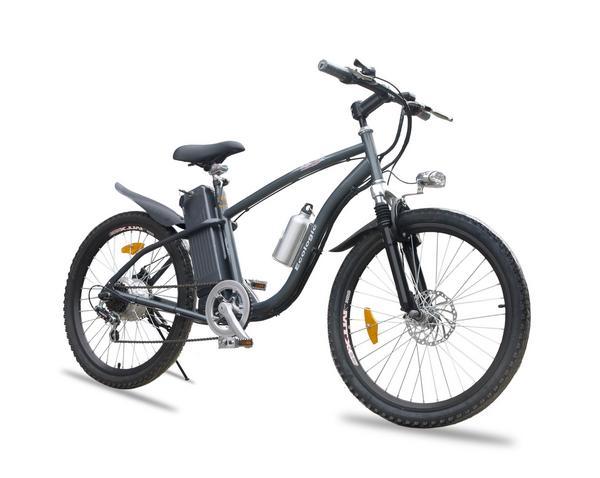 ☆シマノ6段ギア&油圧サスベンション搭載MTBタイプモペット型電動自転車「フォルスト3」