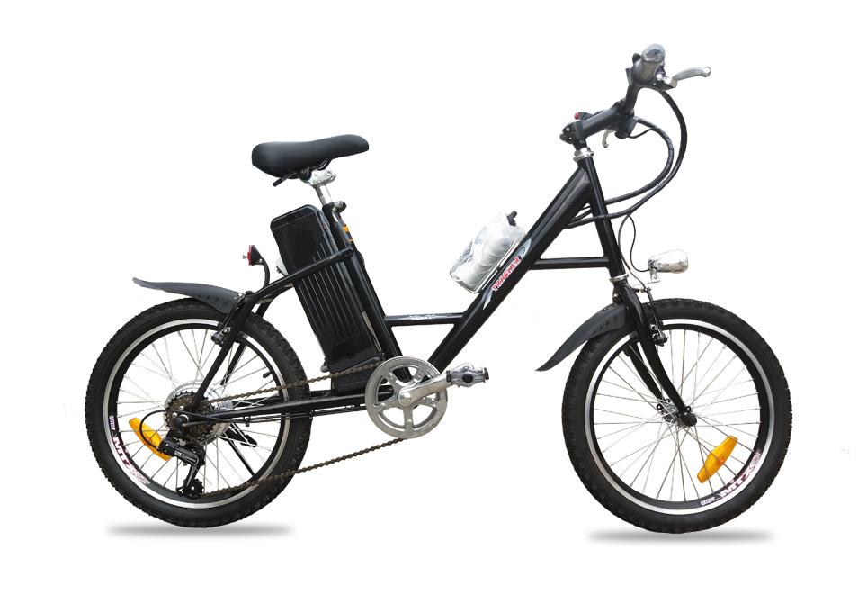★LEDシマノ6段速モペット電動自転車X-STYLE_20インチ