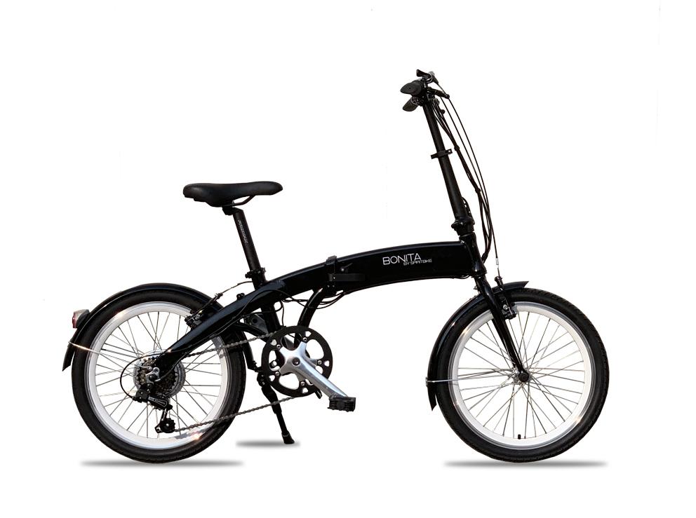 ★数量限定★軽量フルアルミ製★格納式リチウムバッテリーモペット電動自転車 「忍弐」20インチ