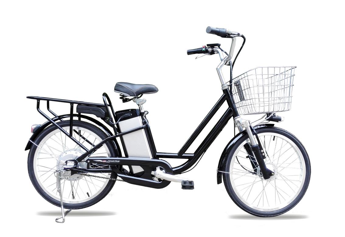 ★楽々坂道★リチウムイオン電池搭載!最強パワー48Vモペット型電動自転車「SPIRITS-X」カゴ付き