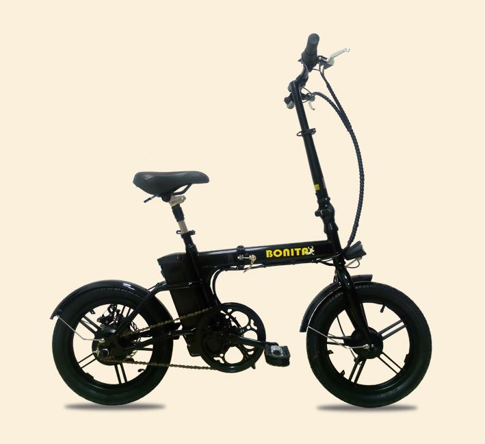 4/28発送★新商品★36Vリチウムイオン電池★軽量折りたたみモペット電動自転車「新フレックス16インチ~Flex16~」