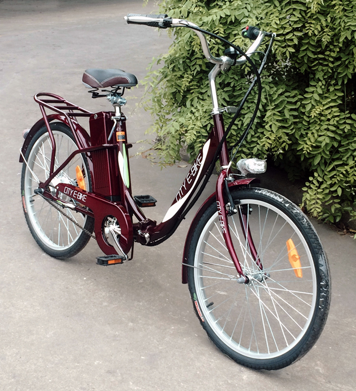 電動自転車(モペット版)「E-BIKE24」折りたたみ型 24V12AH大容量バッテリー搭載 簡単折りたたみ 24インチ