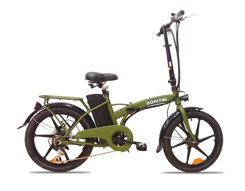 人気提案 4月28日発送予定 36V版大容量リチウムバッテリー搭載 モペット型電動自転車ボニータ20(BONITA-20) 20インチ 折り畳み可能 6段変速と液晶表示板付き, レディースオフ d498b0f7
