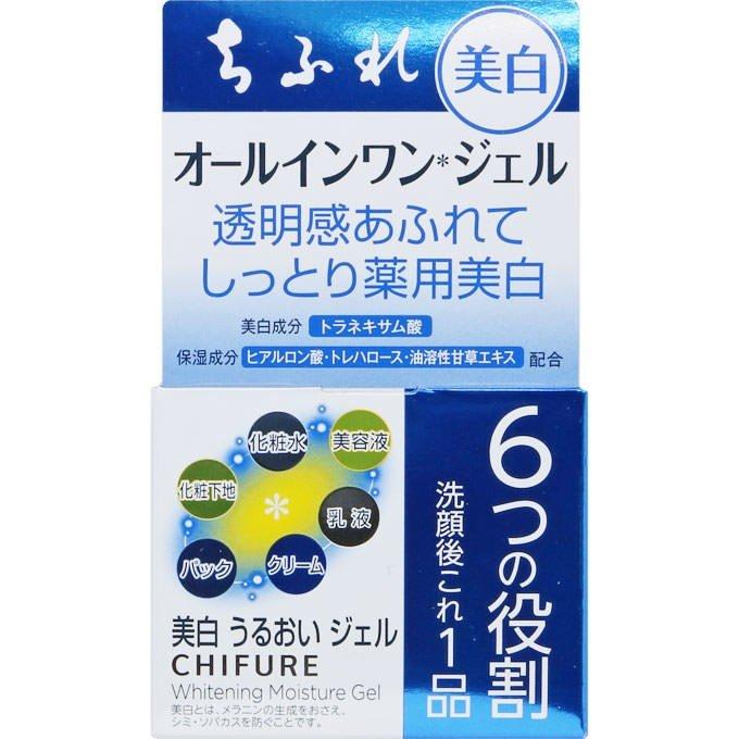 送料無料 代引き不可 日本メーカー新品 新作続 日時指定不可 ちふれ化粧品 青箱 本体 108g オールインワン 美白うるおいジェル