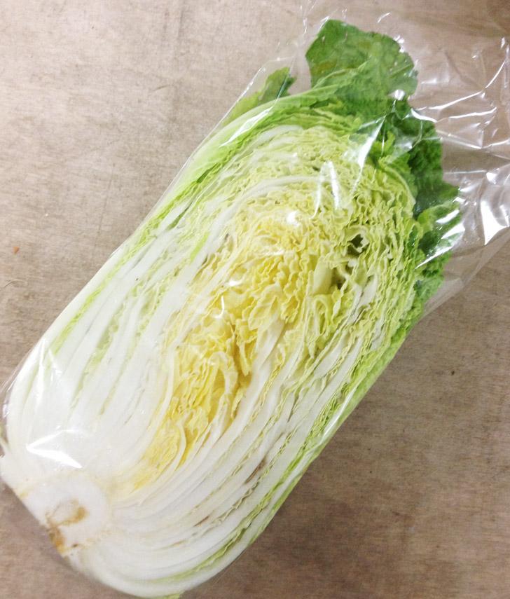 白菜(半玉) 福岡産