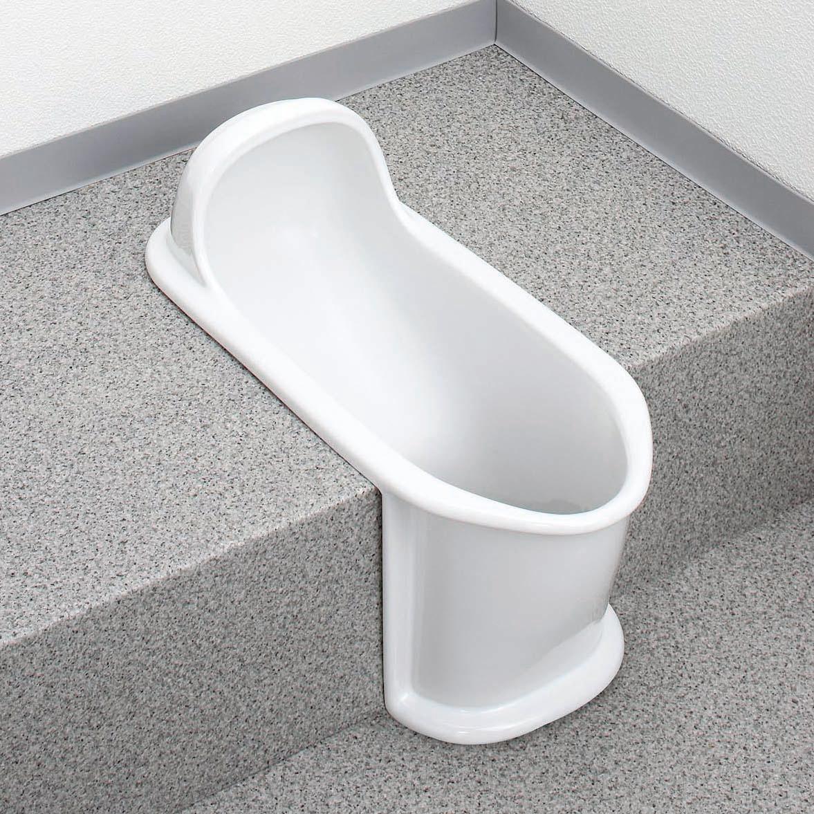 アサヒ衛陶 �水洗トイレ 和風便器 激安 �注生産� エプロン付�両用便器 C110