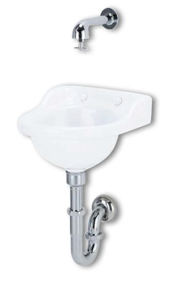 アサヒ衛陶 平付手洗器 アサヒ衛陶 L3PSETW L3PSETW 壁排水金具 平付手洗器 Pトラップ仕様, セレクトショップ NUMBER11:c8186795 --- sunward.msk.ru