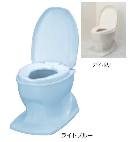 アロン化成 安寿 腰掛便座 簡易設置型洋式トイレ サニタリエース OD 据置式 介護商品 533-403 アイボリー 533-404 ライトブルー